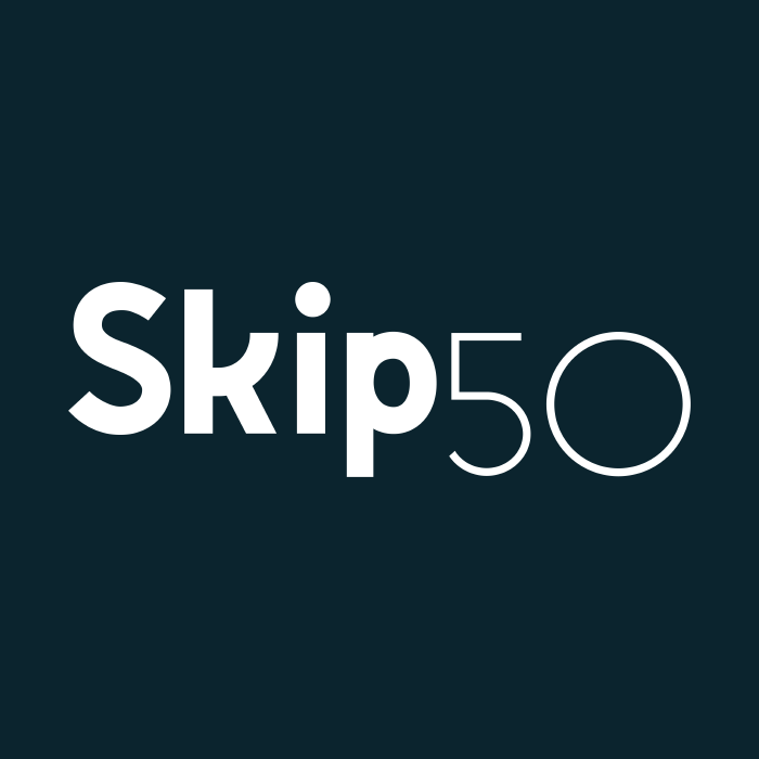 It's official… WE'RE SKIP50!